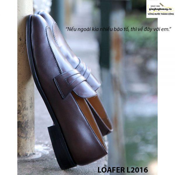Giày lười nam da bò Loafer L2016 003