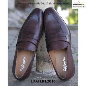 Giày lười nam da bò Loafer L2016 002
