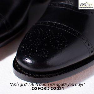 Giày tây da nam buộc dây Oxford Brogues O2021 005