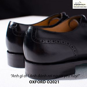 Giày tây da nam buộc dây Oxford Brogues O2021 004