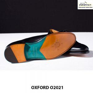 Giày tây da nam buộc dây Oxford Brogues O2021 003