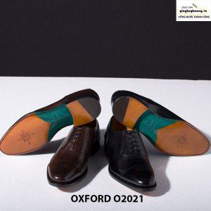 Giày tây da nam buộc dây Oxford Brogues O2021 002