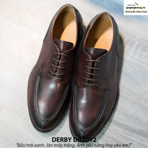 Giày tây nam Derby nam tính DB2012 001