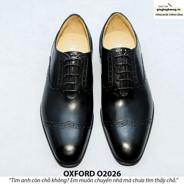 Giày Oxford nam da xịn O2026 005