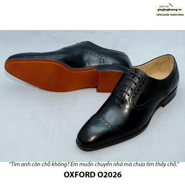 Giày Oxford nam da xịn O2026 004
