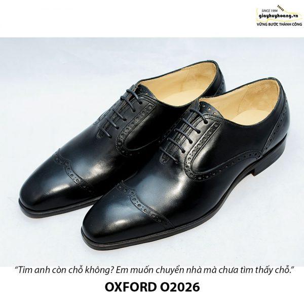 Giày Oxford nam da xịn O2026 001