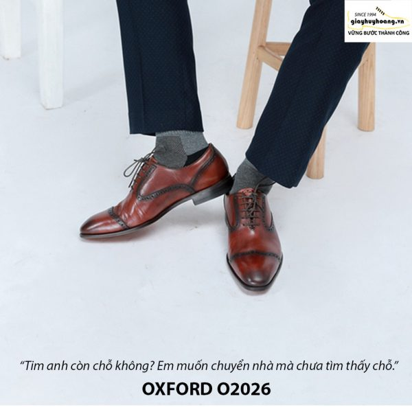 Giày Oxford nam da xịn O2026 003