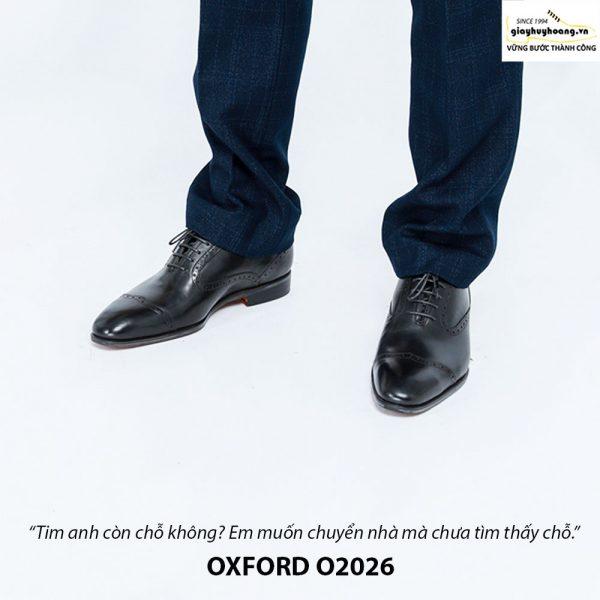 Giày Oxford nam da xịn O2026 002