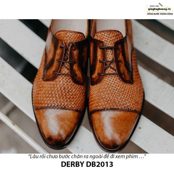 Giày tây nam cột dây đẹp Derby DB2013 001
