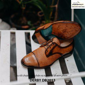 Giày tây nam cột dây đẹp Derby DB2013 005