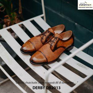 Giày tây nam cột dây đẹp Derby DB2013 002
