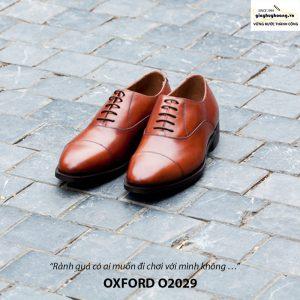 Giày da nam đẹp Oxford O2029 001