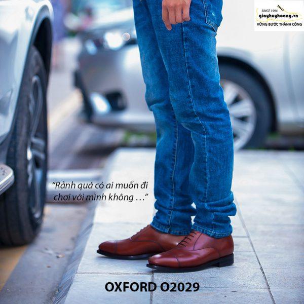 Giày da nam đẹp Oxford O2029 005