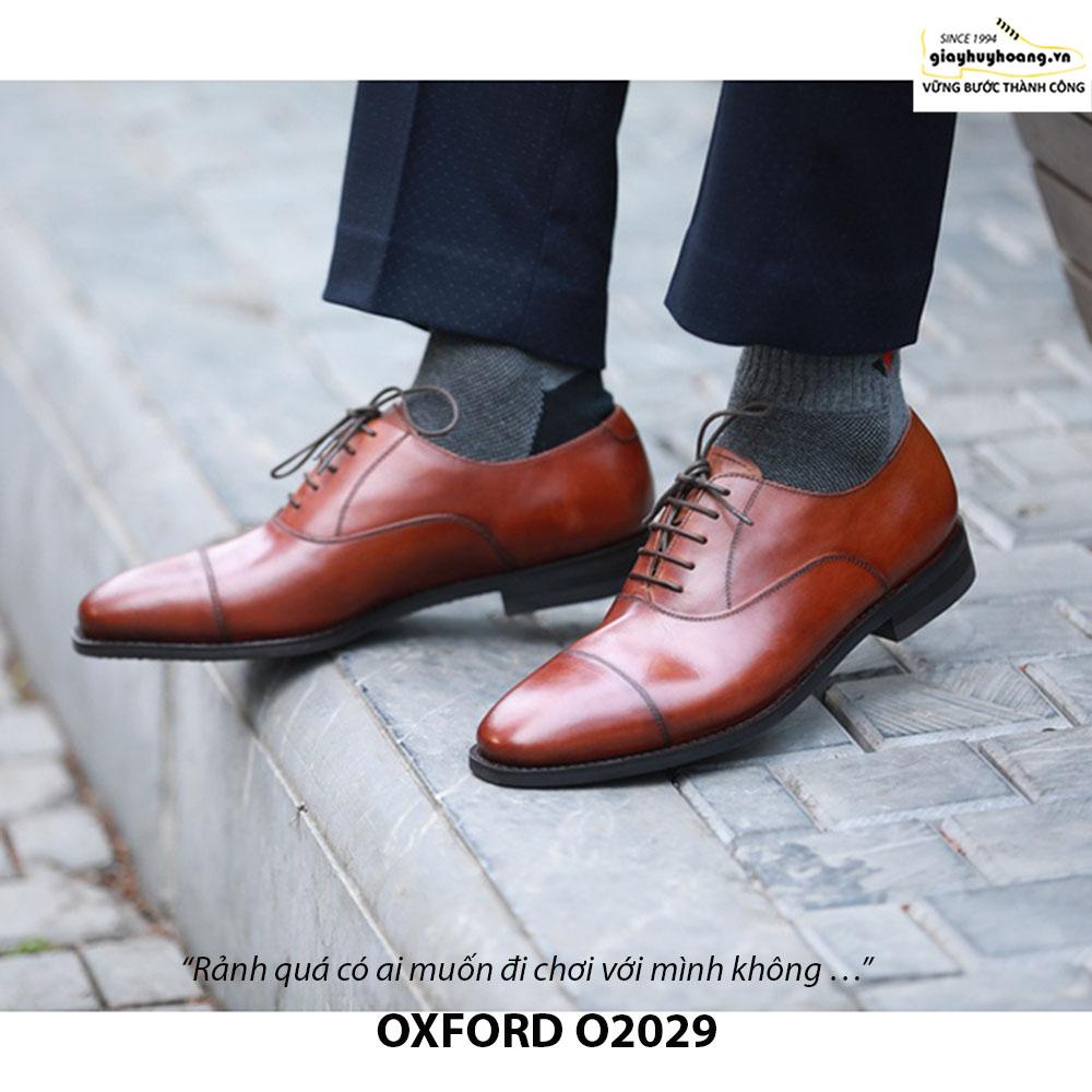 Giày da nam đẹp Oxford O2029 004