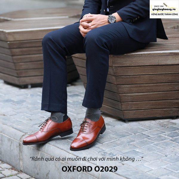 Giày da nam đẹp Oxford O2029 003