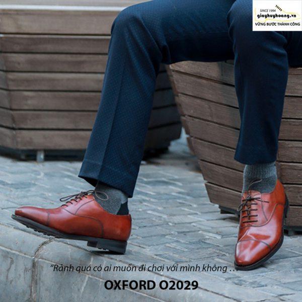 Giày da nam đẹp Oxford O2029 002