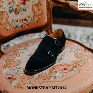 Giày nam công sở Monkstrap da lộn MT2014 004