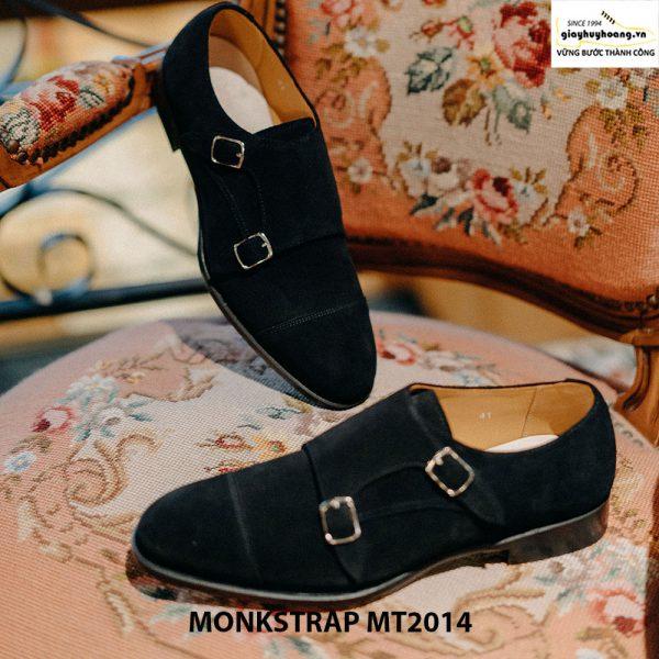 Giày nam công sở Monkstrap da lộn MT2014 001