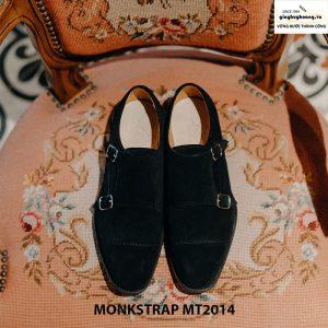 Giày nam công sở Monkstrap da lộn MT2014 003