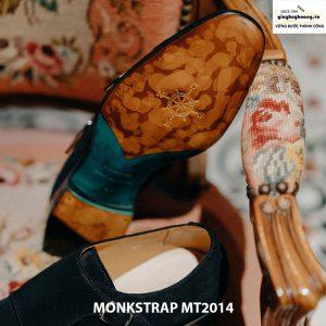 Giày nam công sở Monkstrap da lộn MT2014 002