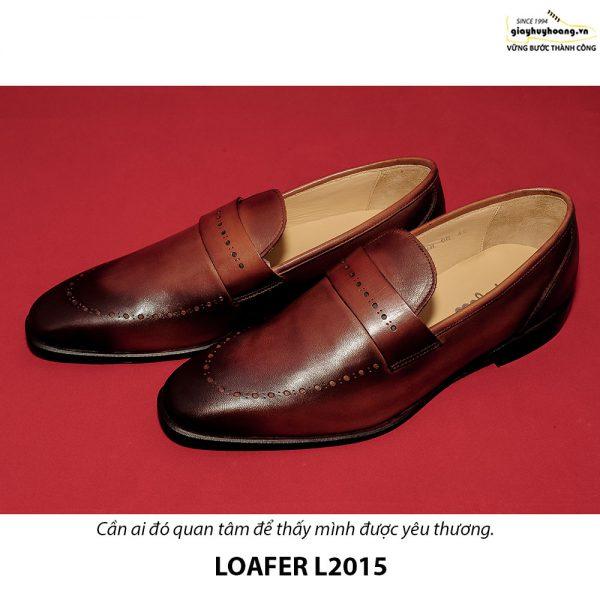 Giày lười loafer nam da bò L2015 001