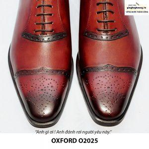 Giày tây Oxford đế da bò O2025 004