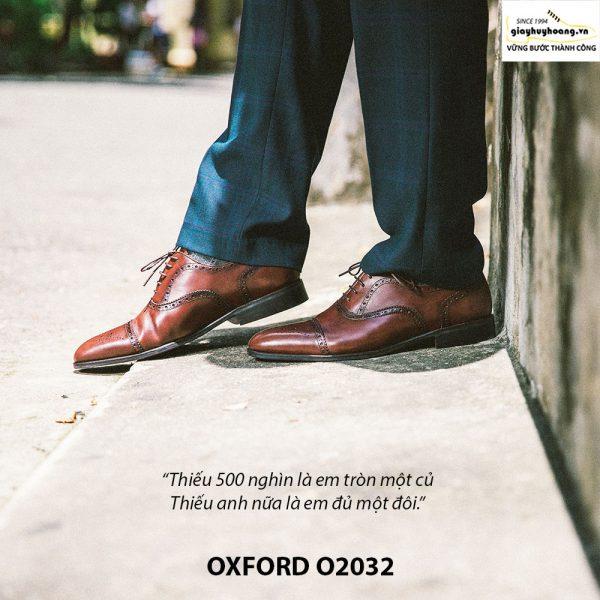 Giày tây nam công sở Oxford O2032 003