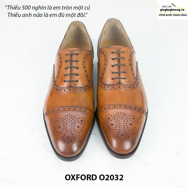 Giày tây nam công sở Oxford O2032 001