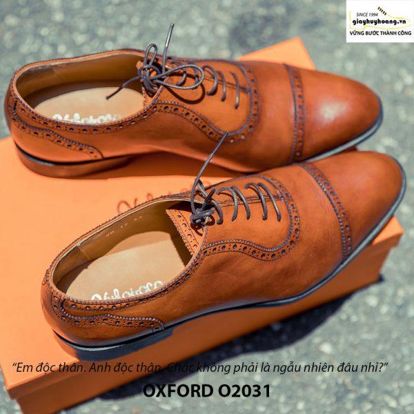 Giày tây nam Oxford O2031 đặt đóng 001