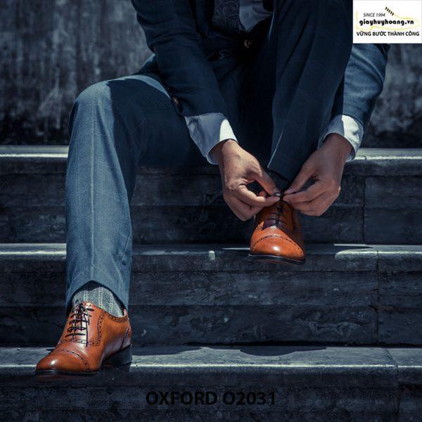 Giày tây nam Oxford O2031 đặt đóng 004