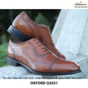 Giày tây nam Oxford O2031 đặt đóng 003