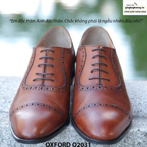Giày tây nam Oxford O2031 đặt đóng 002