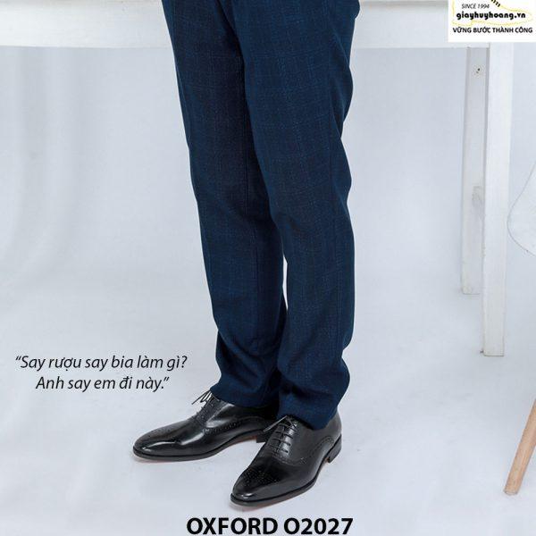 Giày tây nam công sở Oxford O2027 006