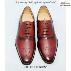 Giày tây nam công sở Oxford O2027 001