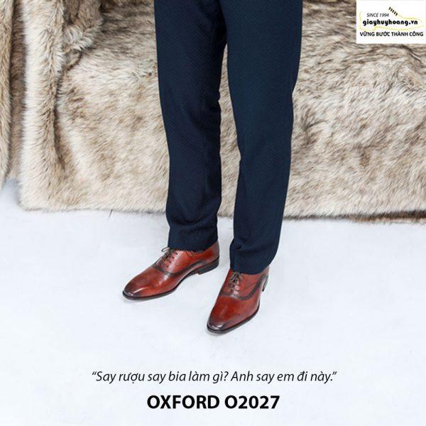 Giày tây nam công sở Oxford O2027 002