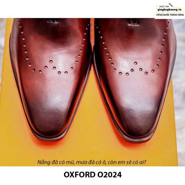 Giày tây nam Oxford Xịn O2024 008