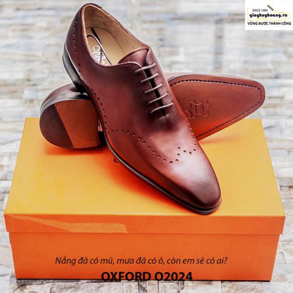 Giày tây nam Oxford Xịn O2024 001