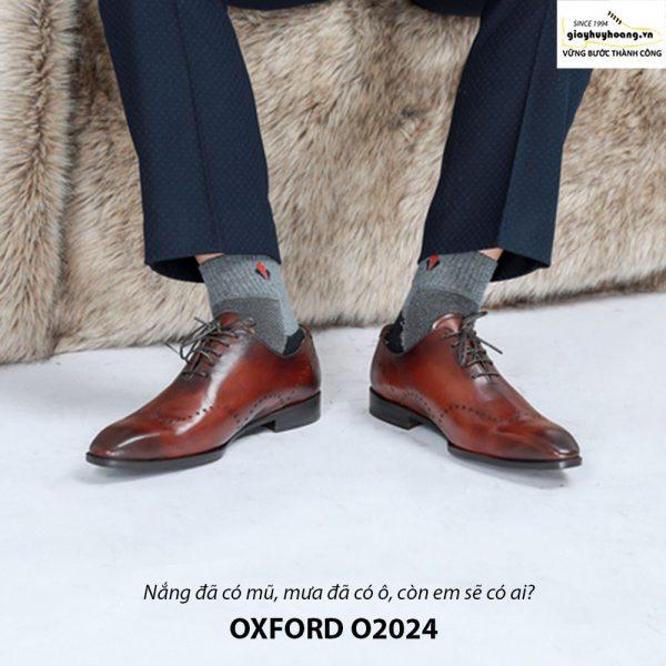Giày tây nam Oxford Xịn O2024 006