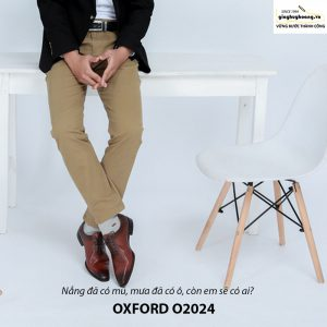 Giày tây nam Oxford Xịn O2024 003