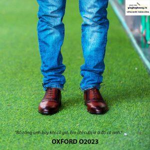 Giày tây nam Oxford chính hãng O2023 006