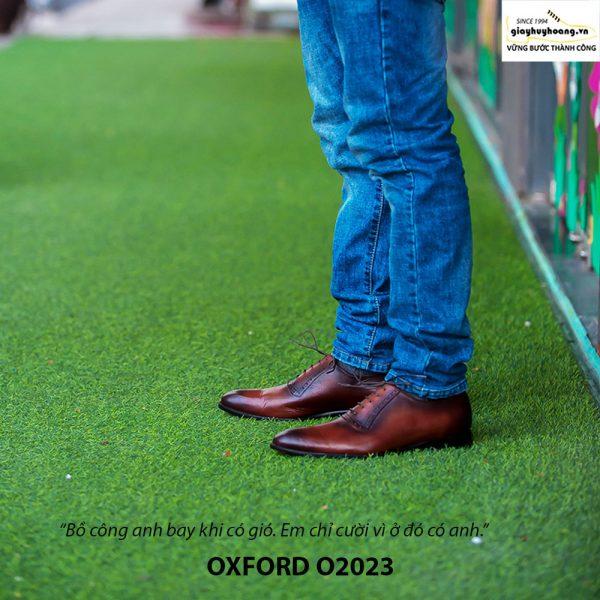Giày tây nam Oxford chính hãng O2023 005
