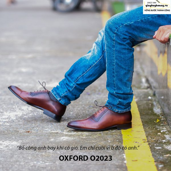 Giày tây nam Oxford chính hãng O2023 004