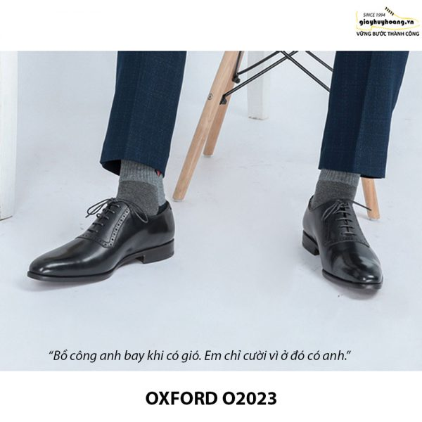Giày tây nam Oxford chính hãng O2023 003
