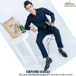 Giày tây nam Oxford chính hãng O2023 002