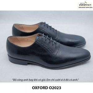 Giày tây nam Oxford chính hãng O2023 001