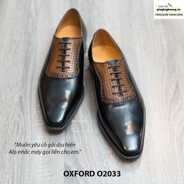 Giày tây nam công sở Oxford O2033 001