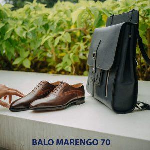 Balo da bò nam không nhăn Marengo 70 005