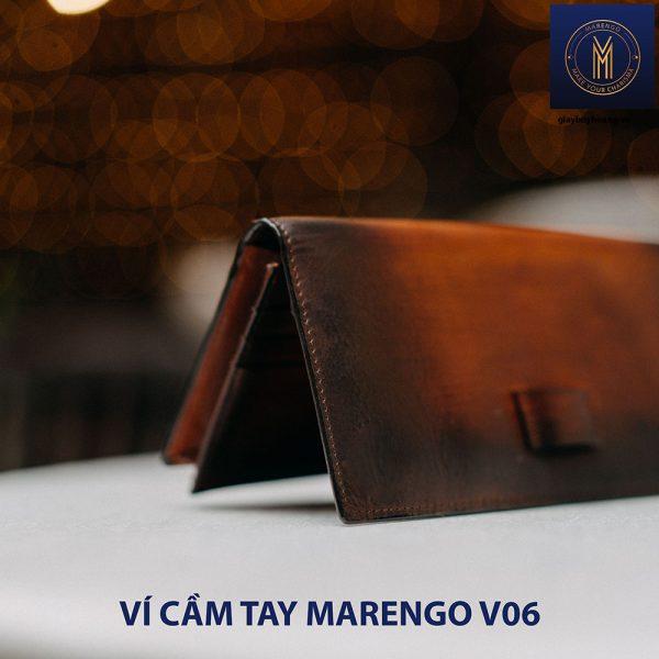 Ví cầm tay dài nam có chốt Marengo V06 004