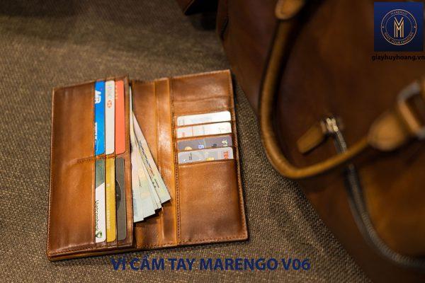 Ví cầm tay dài nam Marengo V06 nhiều ngăn 003