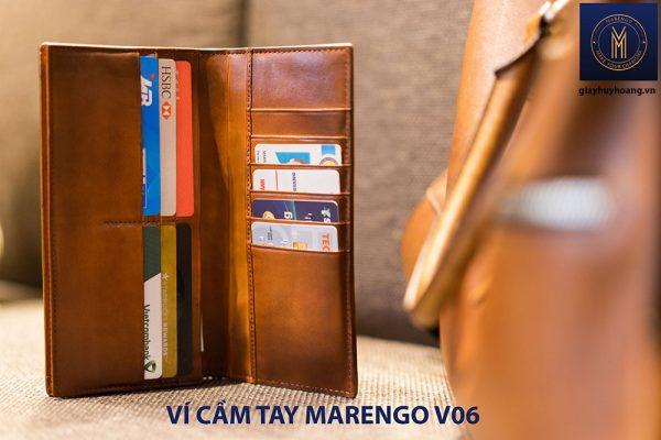 Ví cầm tay dài nam Marengo V06 nhiều ngăn 001